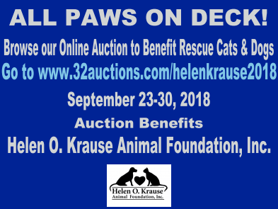 Helen O. Krause Online Auction 2018